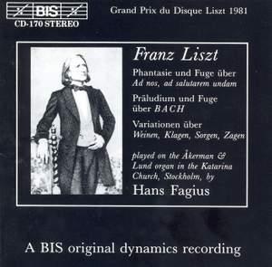 Liszt - Organ Music