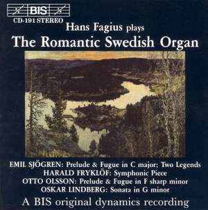 The Romantic Swedish Organ
