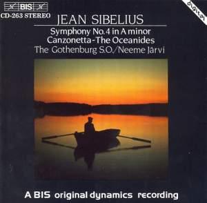 Sibelius: Symphony No. 4 in A minor, Op. 63, etc.