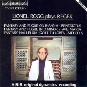 Lionel Rogg plays Reger
