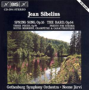 Sibelius: Spring Song, The Bard & other orchestral suites