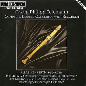 Telemann - Complete Double Concertos with Recorder