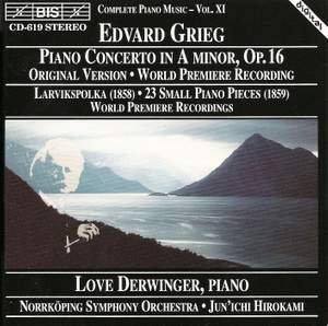 Grieg: Piano Concerto in A minor, Op. 16, etc. Product Image