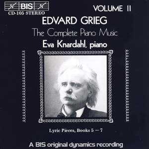Grieg - The Complete Piano Music, Volume 2