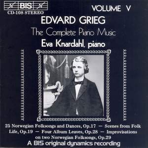Grieg - The Complete Piano Music, Volume 5