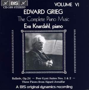 Grieg - The Complete Piano Music, Volume 6