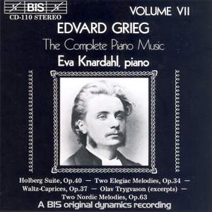 Grieg - The Complete Piano Music, Volume 7