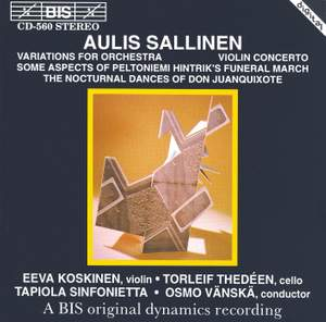 Sallinen: Variations for Orchestra, Violin Concerto