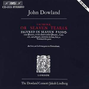 Dowland: Lachrimae, or Seaven Teares