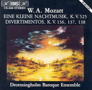 Mozart: Serenade No. 13 & 3 Divertimenti