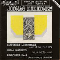 Kokkonen: Symphony No. 4, Cello Concerto & Symphonic Sketches