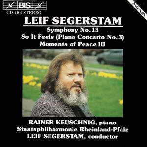 Segerstam: Symphony No. 13 for percussion, piano and strings, etc.