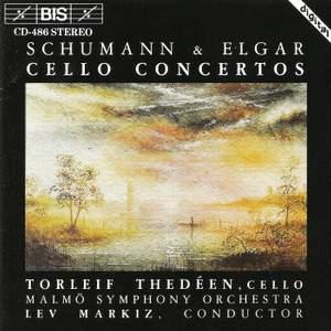 Cello Concertos by Schumann and Elgar