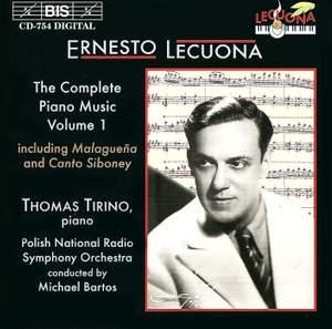 Ernesto Lecuona - Complete Piano Music, Volume 1