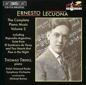Ernesto Lecuona - Complete Piano Music, Volume 2