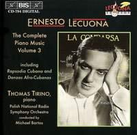 Ernesto Lecuona - Complete Piano Music, Volume 3