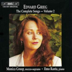 Grieg - The Complete Songs Volume 2