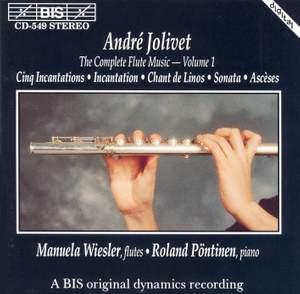 André Jolivet - Complete Flute Music, Volume 1