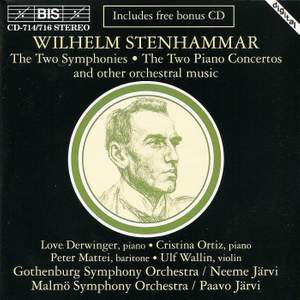 Stenhammar - Symphonies, Piano Concertos and other works