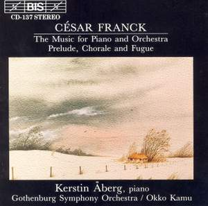 César Franck - Music for Piano and Orchestra Product Image