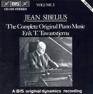 Sibelius - The Complete Original Piano Music, Volume 3 Product Image
