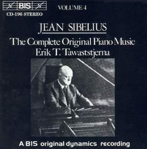 Sibelius - The Complete Original Piano Music, Volume 4