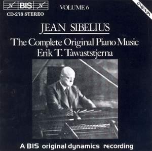 Sibelius - The Complete Original Piano Music, Volume 6