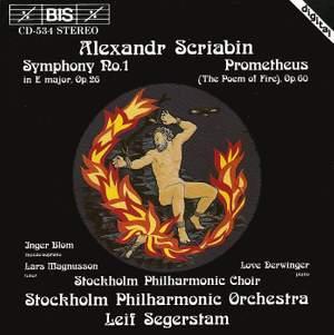 Scriabin: Symphony No. 1 & Prometheus