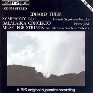 Tubin: Symphony No. 1 in C minor, etc.