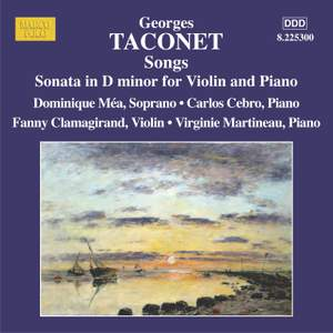 Taconet: Songs & Violin Sonata in D minor