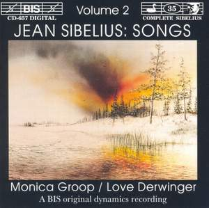 Sibelius - Songs, Volume 2