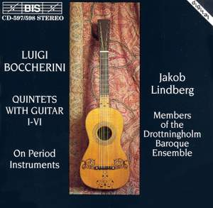 Boccherini: Six Guitar Quintets, G445-450