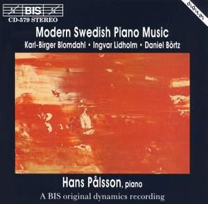 Modern Swedish Piano Music