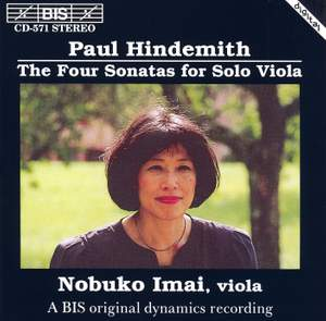 Paul Hindemith: The Four Sonatas for Solo Viola