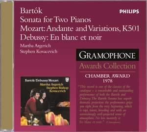 Bartók: Sonata for Two Pianos & Percussion, BB 115, Sz. 110, etc.