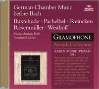 German Chamber Music before Bach
