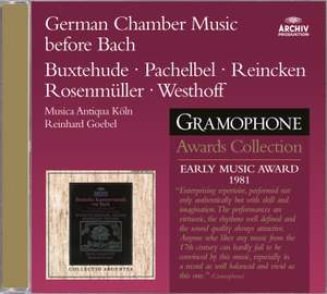 German Chamber Music before Bach Product Image