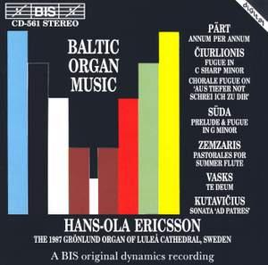 Baltic Organ Music Product Image
