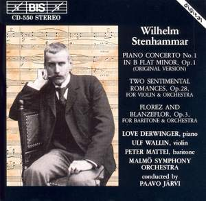 Stenhammar: Piano Concerto No. 1, Two Sentimental Romances