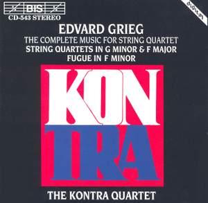 Grieg - Complete Music for String Quartet