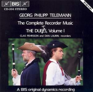Telemann - Recorder Duets, Volume 1