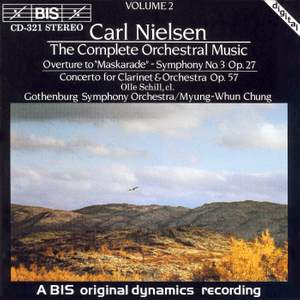 Carl Nielsen: The Complete Orchestral Music Vol. 2 Product Image