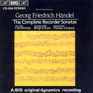 Handel - Complete Recorder Sonatas