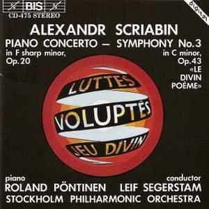 Scriabin: Piano Concerto & Symphony No. 3