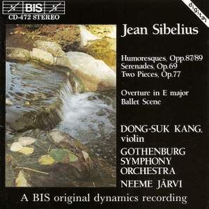 Sibelius: Works for Violin and Orchestra