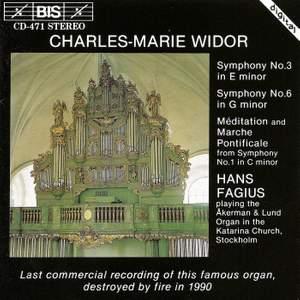 Widor - Organ Symphonies Product Image