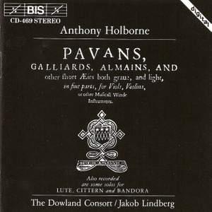 Anthony Holborne - Consort Music