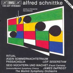 Schnittke: Faust Cantata and other works Product Image