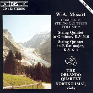 Mozart - Complete String Quintets, Volume 2