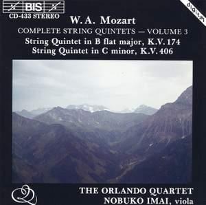 Mozart - Complete String Quintets, Volume 3